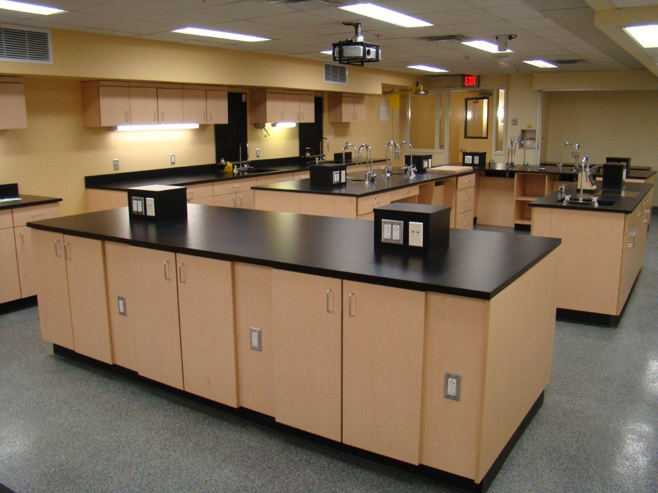 Provincial lab systems quality laboratory furniture for Lab homes